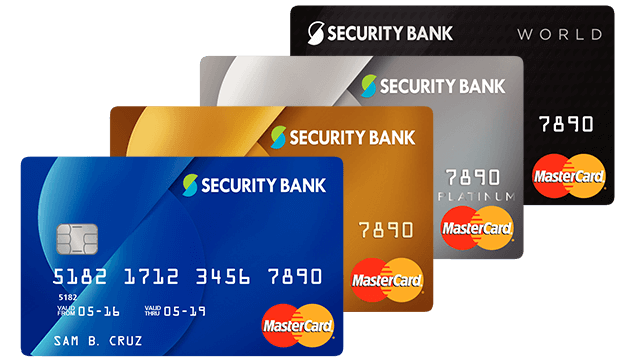 Security Bank Mastercard