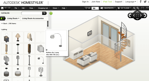 Auto Desk Home Styler Software