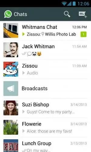 Whatsapp Interface 300x500 - WhatsApp Vs Viber - The Best Phone Messaging App?