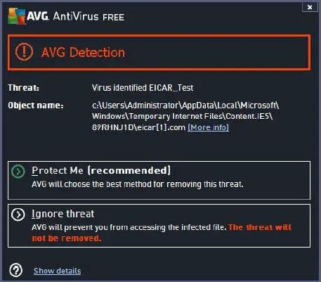 Features of AVG Antivirus 2013