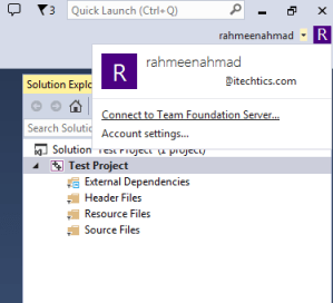 Team foundation server in Visual Studio 2013