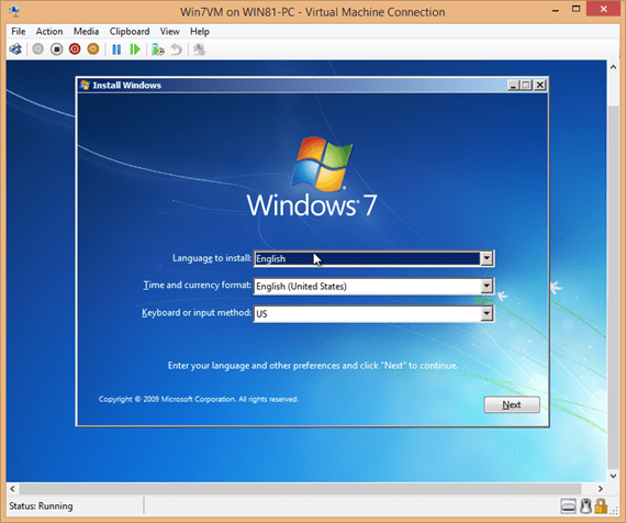 Windows 7 boot from installation DVD