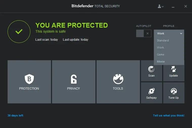 Bitdefender total security 2015 free download.