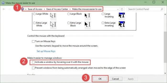 Make windows easier to use