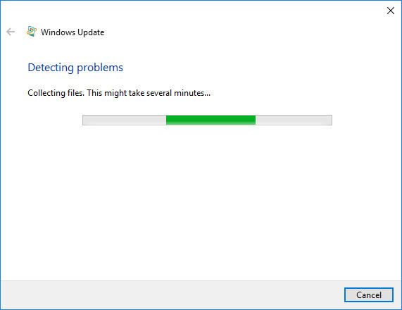 Detecting problems in Windows Update
