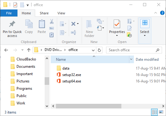 troubleshooting 32-bit 64-bit Office 2016 installation conflict