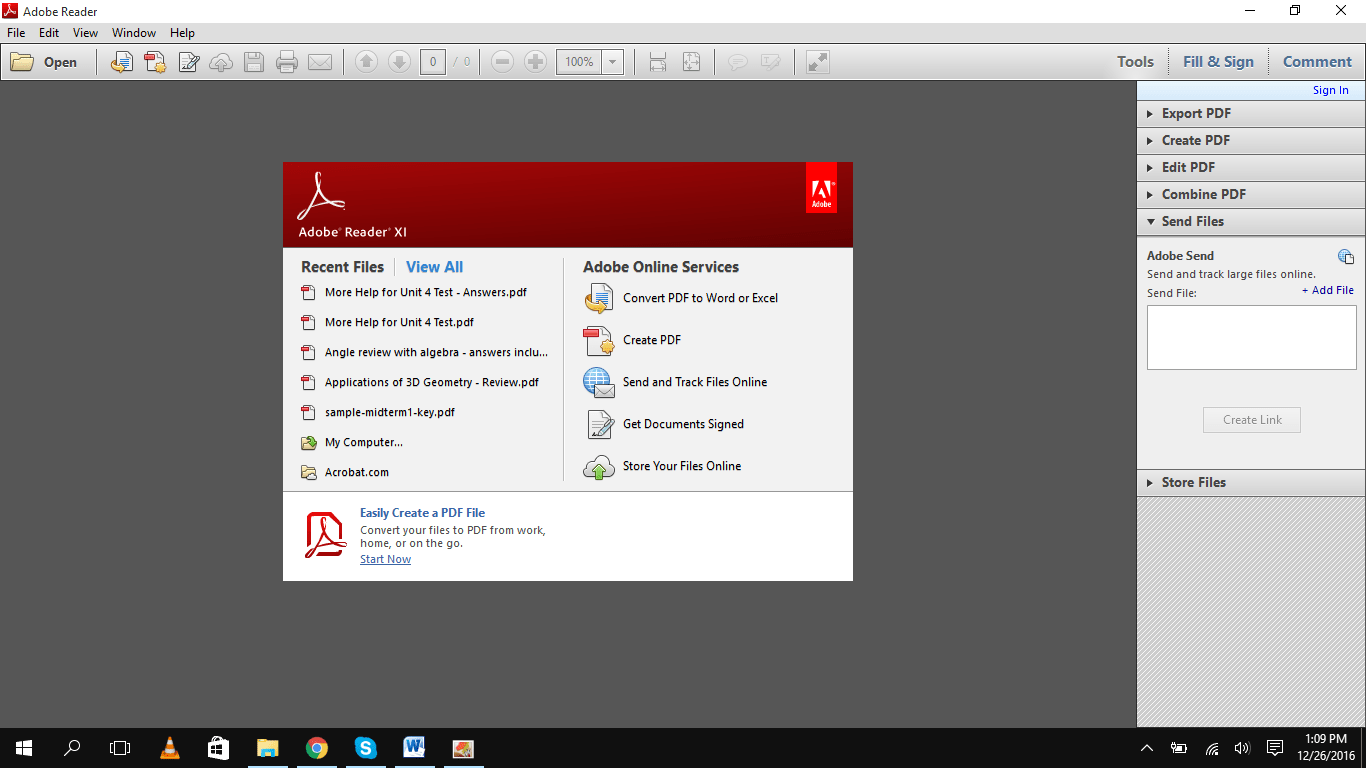 adobe reader xi 11.0.20