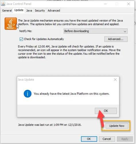 Java 8 Update 111 offline installers Update