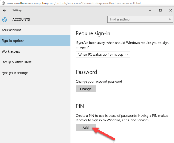 8 6 606x500 - How To Login Without Password in Windows 10