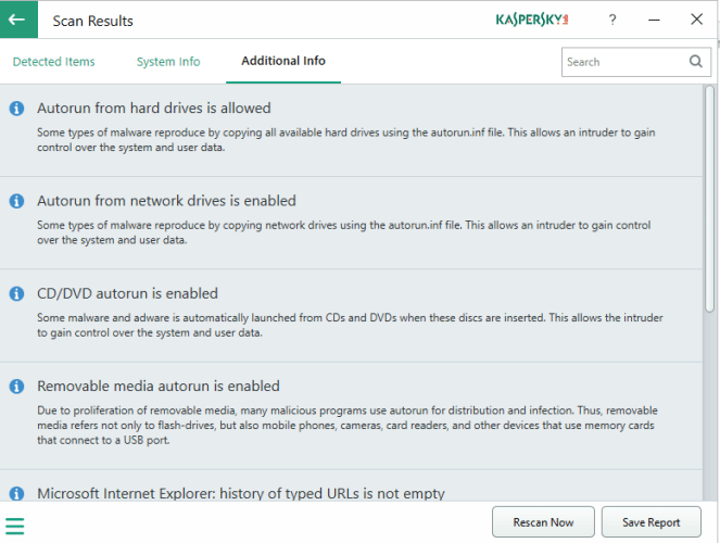4 9 663x500 - Identify System Issues With Kaspersky System Checker