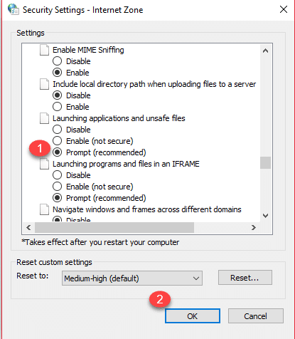 1d 1 - Fix: Unable To Download Any EXE File In Windows 10