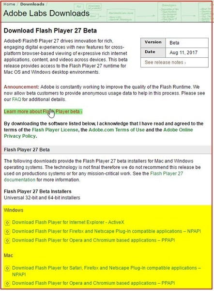 19_47_48-Download Adobe Flash Player 27 Beta for Desktops - Adobe Labs - Comodo Dragon