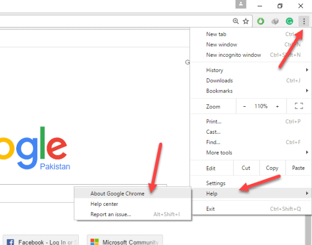 Download google chrome 61 offline installers for all operating systems go to about chrome from help option available in the menu of google chrome ccuart Gallery
