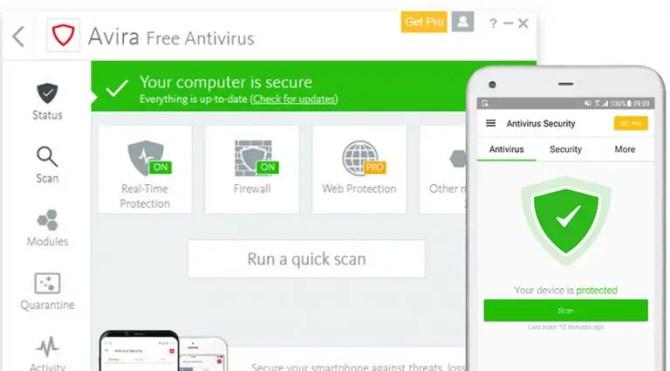 Download Avira Free Security Suite