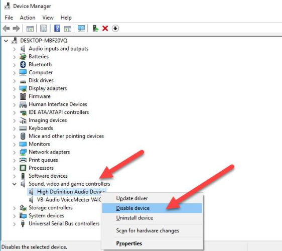 """2 3 562x500 - 4 Ways To Fix """"Another App Is Controlling Your Sound At The Moment"""" Error In Windows 10"""