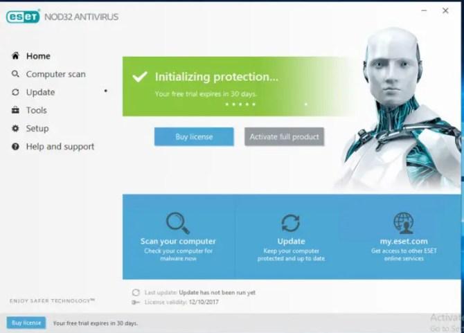 ESET 11 NOD32 Antivirus 2018 edition