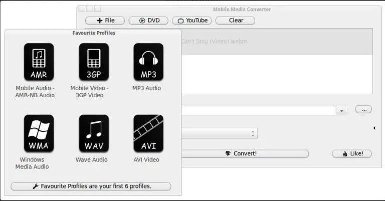 Mobile Media Converter (Freeware)