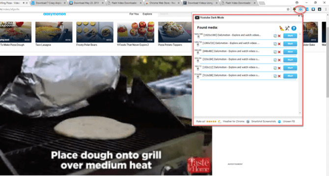 flash video downloader google chrome