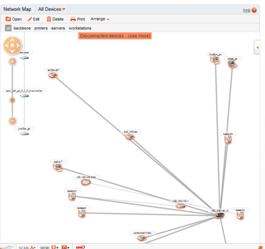 Spiceworks Network Mapping Software