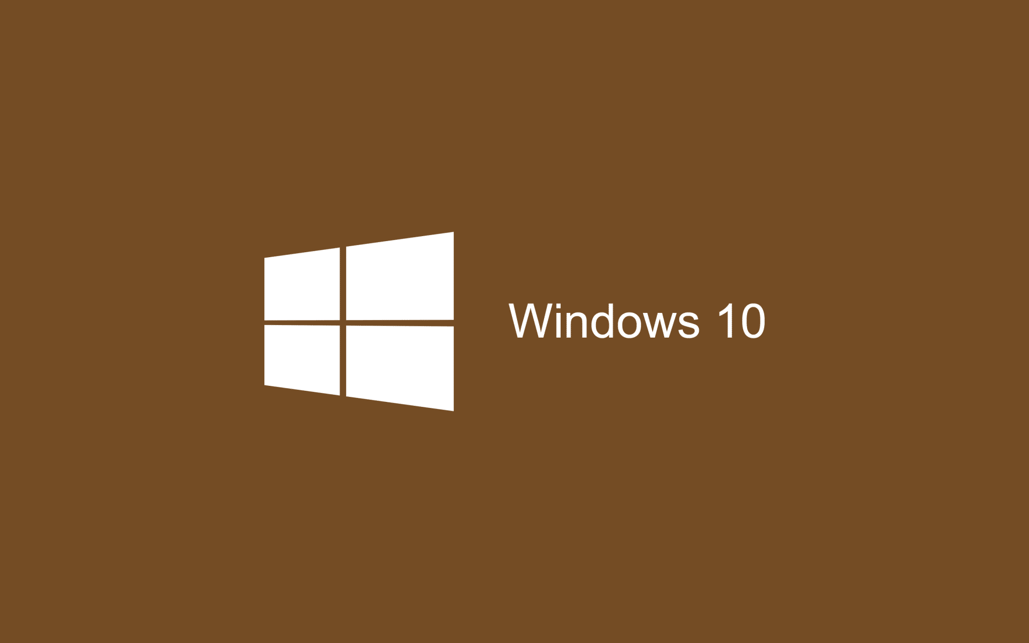 Brown Wallpaper Windows 10 HD 2880x1800