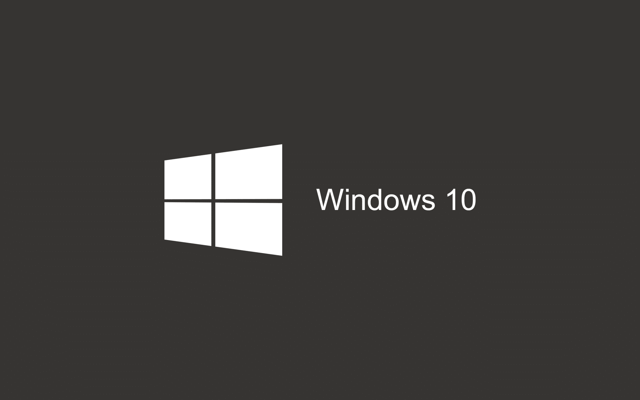 Gray Wallpaper Windows 10 HD 2880x1800