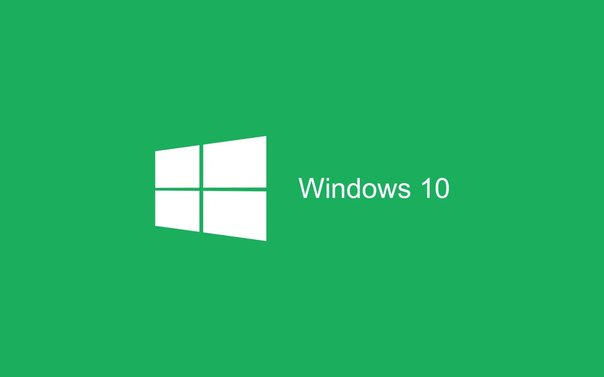 green Wallpaper Windows 10 HD 2880x1800