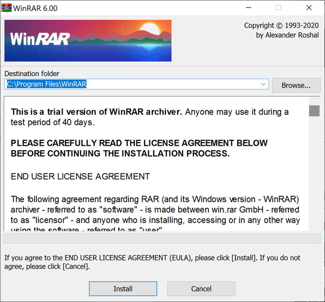 WinRAR 6 Comes With Additional Switches And New Compression Parameters 1