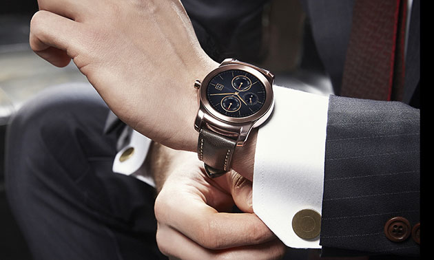 LG's Luxury Smartwatch With A Metal Body