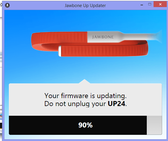 jawbone up 24 firmware update, This is how to do it