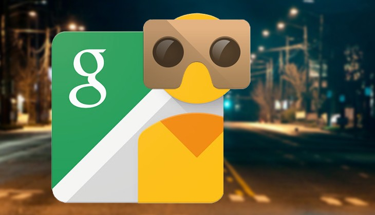 Street View app now support Virtual Reality