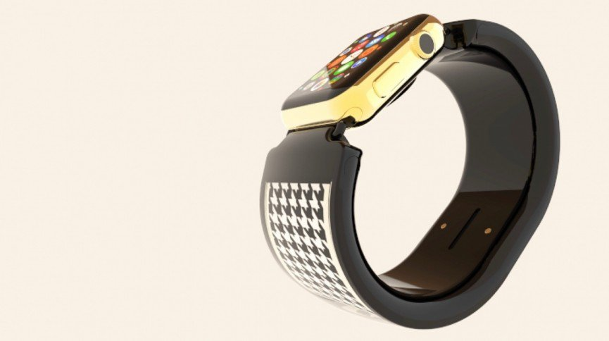 Bracelite is an e-paper jewelery for you and your Apple Watch