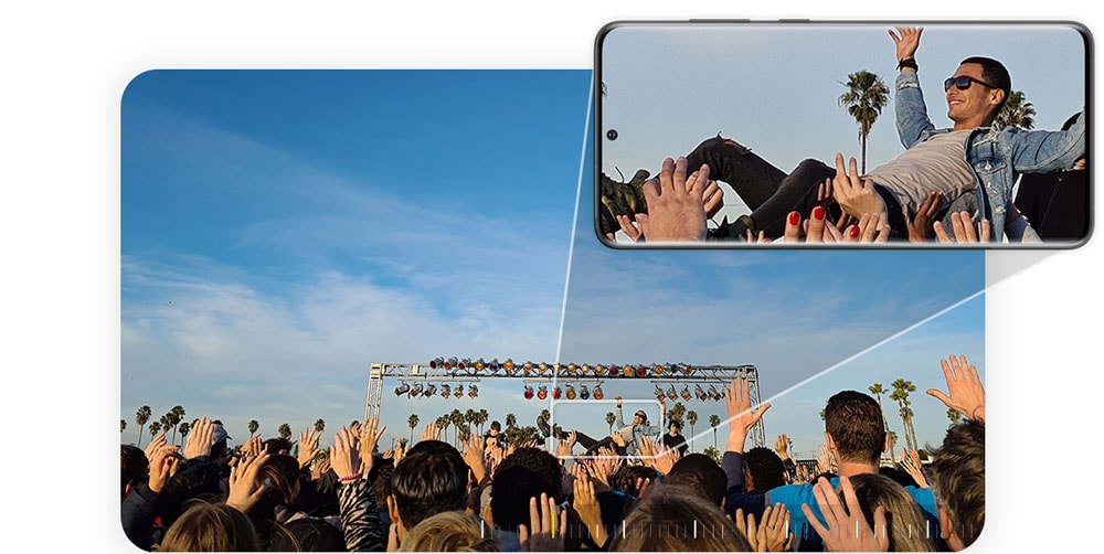 Stor skjerm