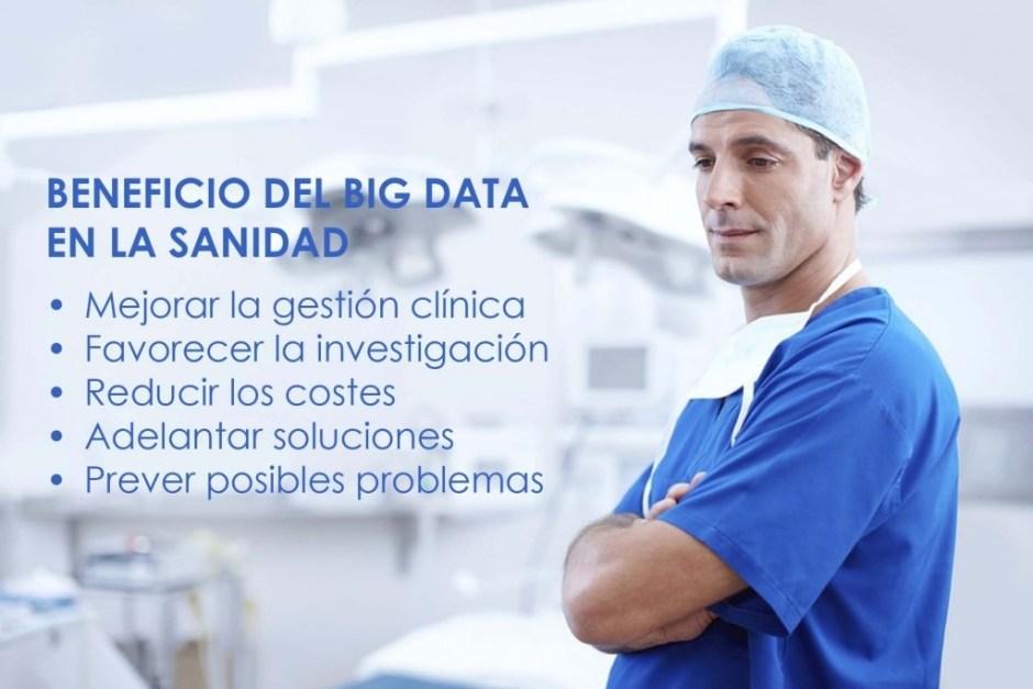 Beneficio del Big Data en la Sanidad
