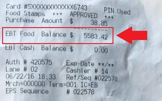 """""""TN EBT Card Balance Check"""""""