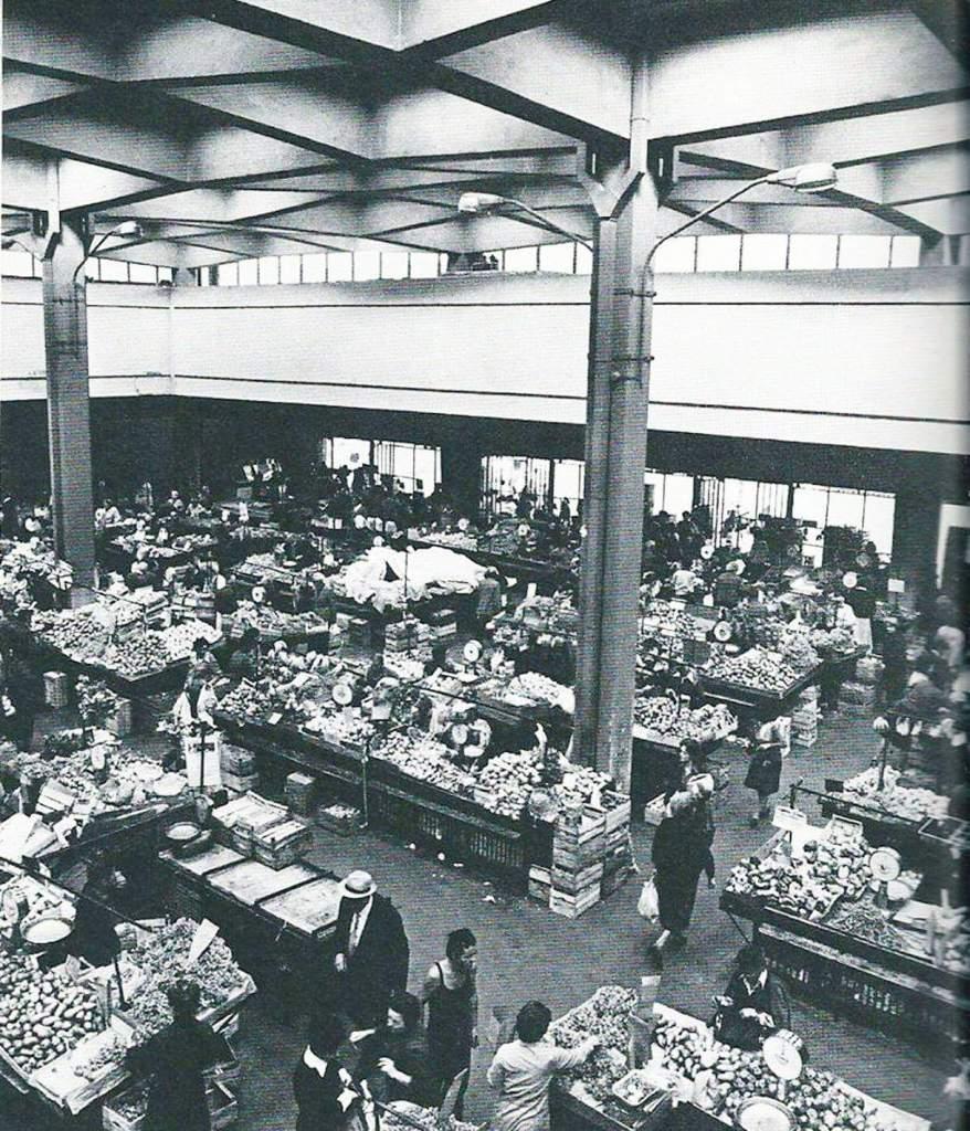 Mercato coperto Terni (Foto storica di Concerto dai balconi)