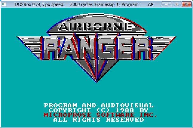 Airborne Ranger in DOSBox afb.02