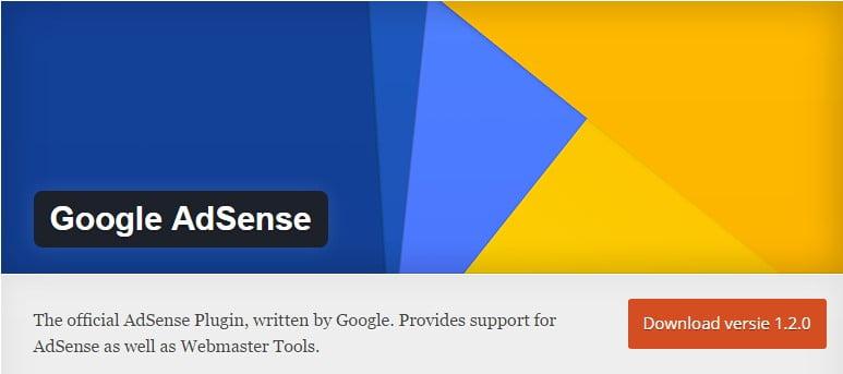 Google AdSense WordPress plugin