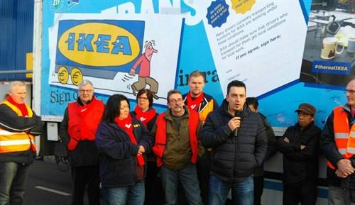 IKEA FNV de Navidad