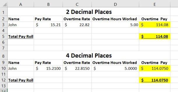 overtime calculation