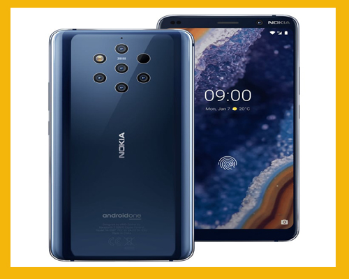 Nokia Launches World's First Smartphone With a Unique Five Camera