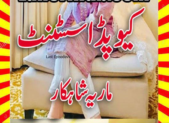 Cupid Assistant Urdu Novel By Maria Shahkar Last Episode