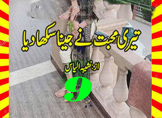 Teri Mohabbat Ne Jeena Sikha Diya Urdu Novel By Noshaba Ilyas Episode 9