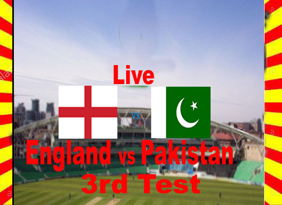England vs Pakistan 3rd Test Match 2020 Live