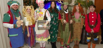 Lisa Snowdon Launches LaplandUK and New Festive Book!