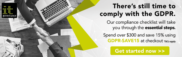 GDPR Compliance Checklist - GDPR Essentials - Spend over $300 and save 15%