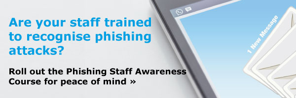 Are your staff trained to recognise phishing attacks? Roll out the Phishing Staff Awareness Course for peace of mind.