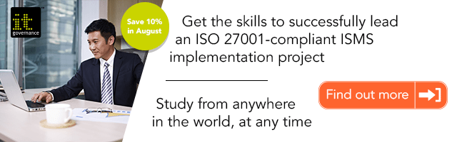 Get the skills to successfully lead an ISO 27001-compliant ISMS implementation project. Study from anywhere in the world, at any time.