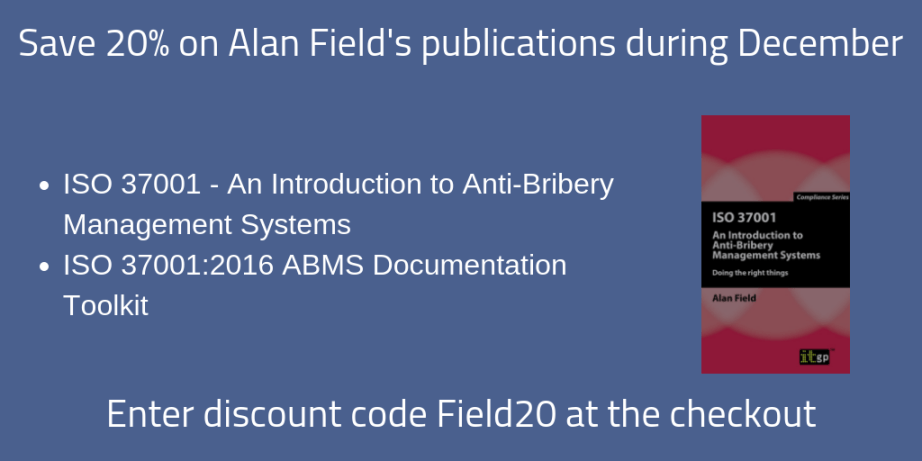 Save 20% on Alan's ITGP books during November