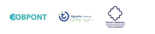 Logo JobPont, itgrarte y Centro Sadosky