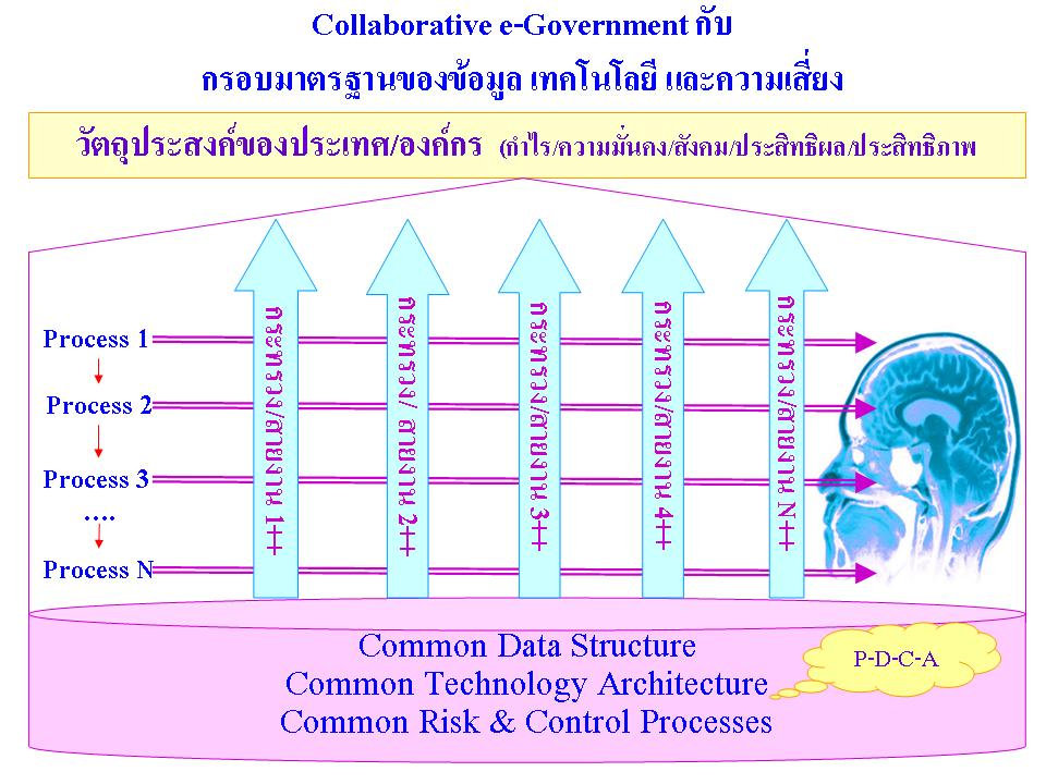 Collaborative e-Governance กับ Common Data Technology and Risk